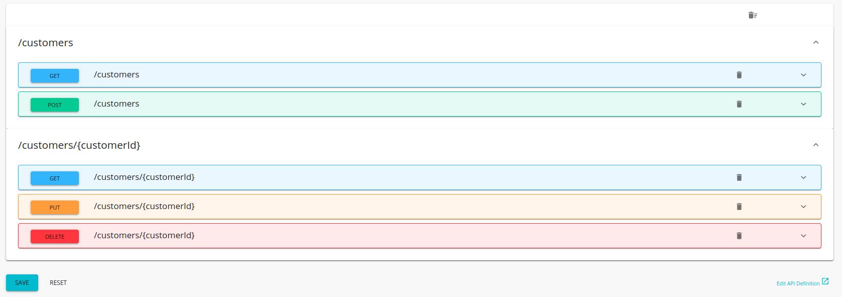 Customer info API