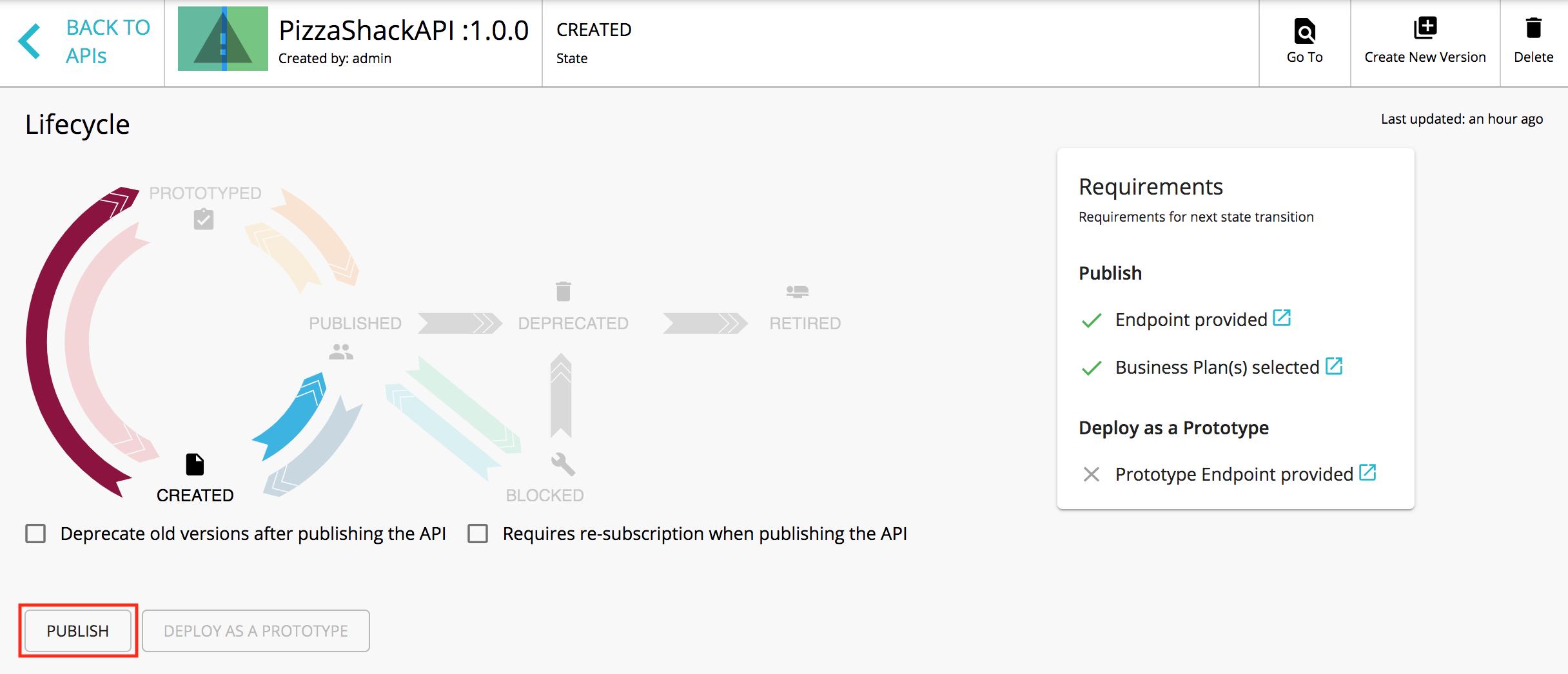 Publish API