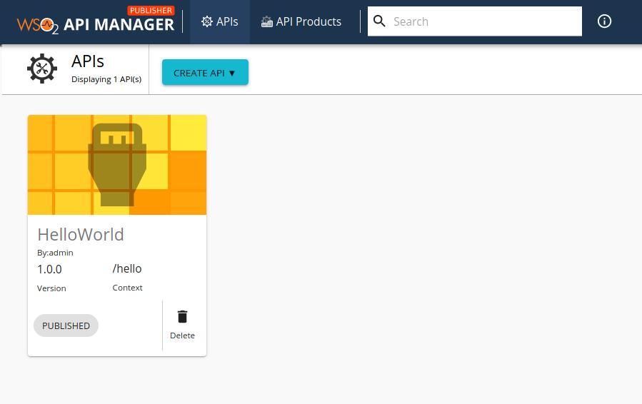 Developer Portal home page