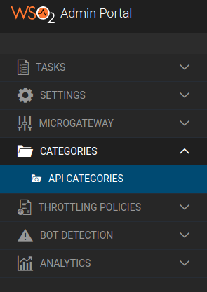 Add categories page