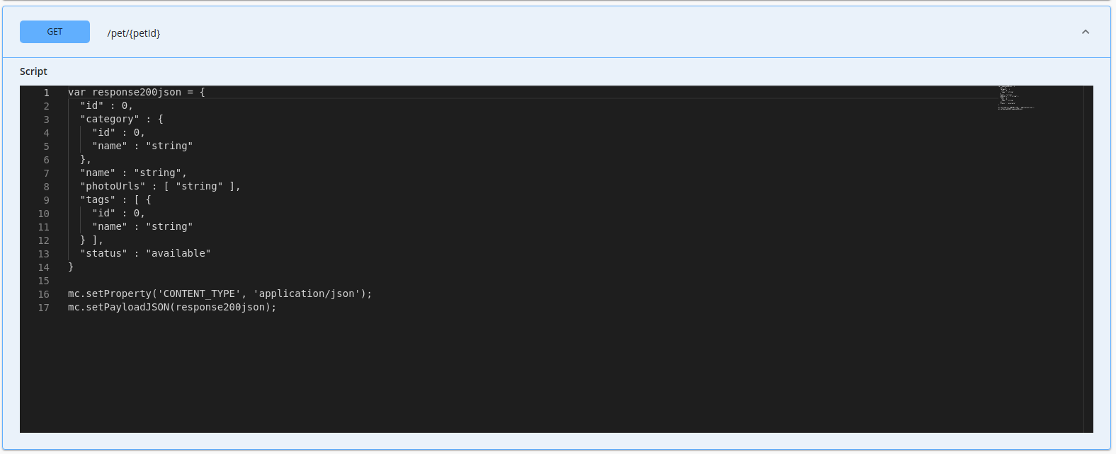 Generated inline script