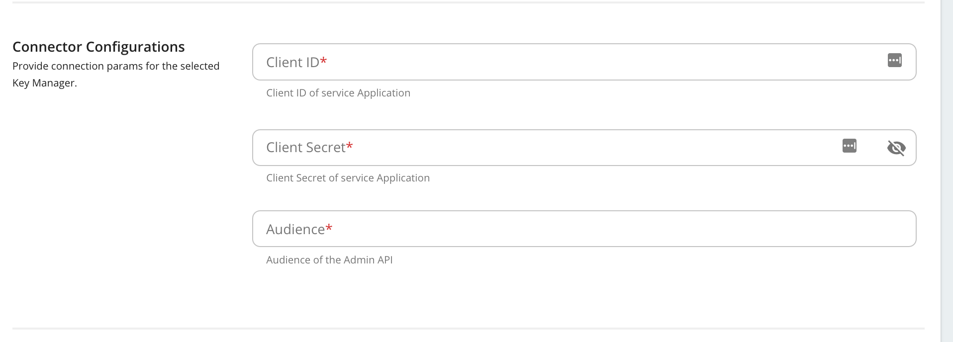 auth0 connector configs