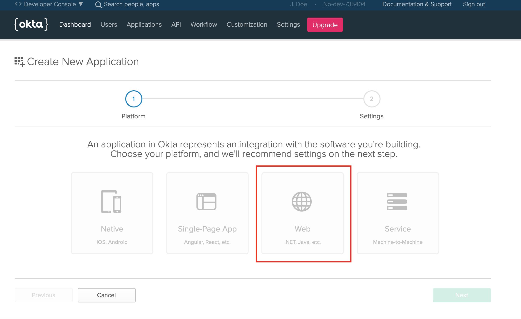 okta add application introduction