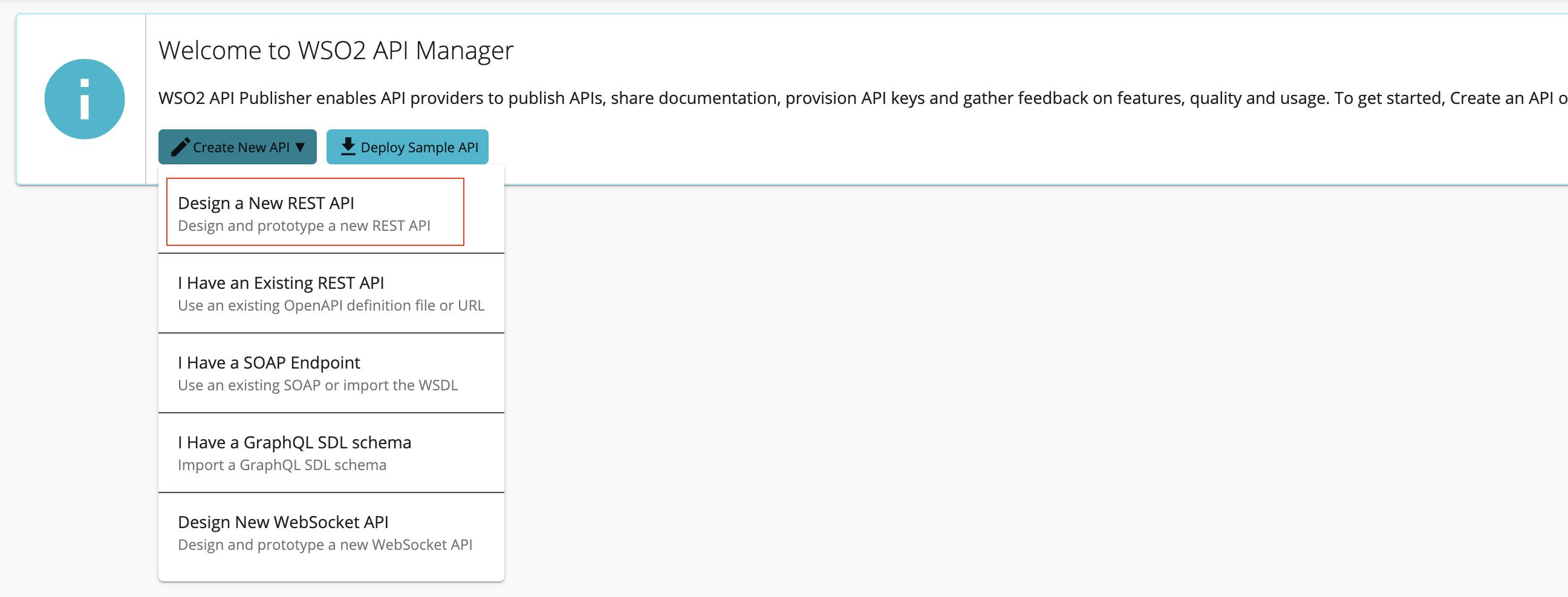 Design a new REST API