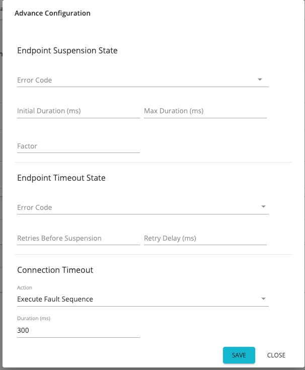 Advanced endpoint configurations