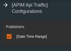 APIMApiTraffic configurations
