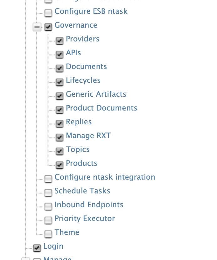 API-M add role permissions for Okta