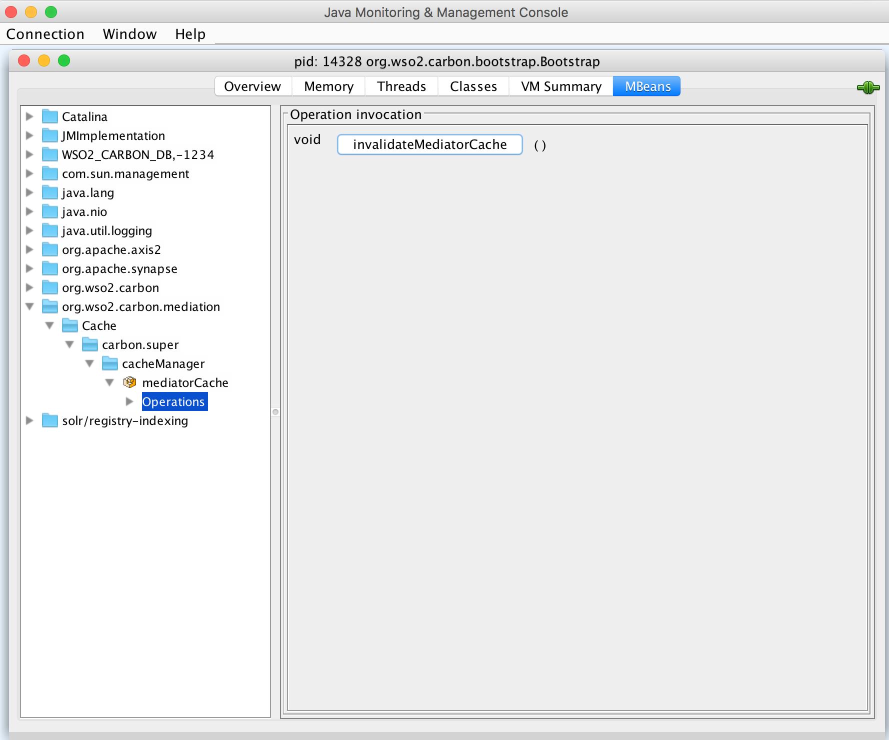 JMX monitoring through JConsole