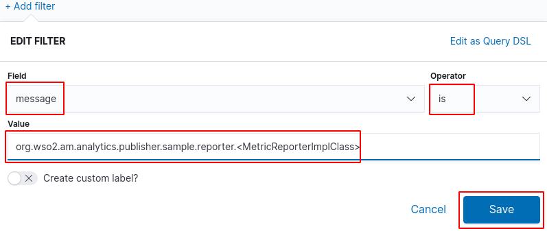 Total analytics traffic filter