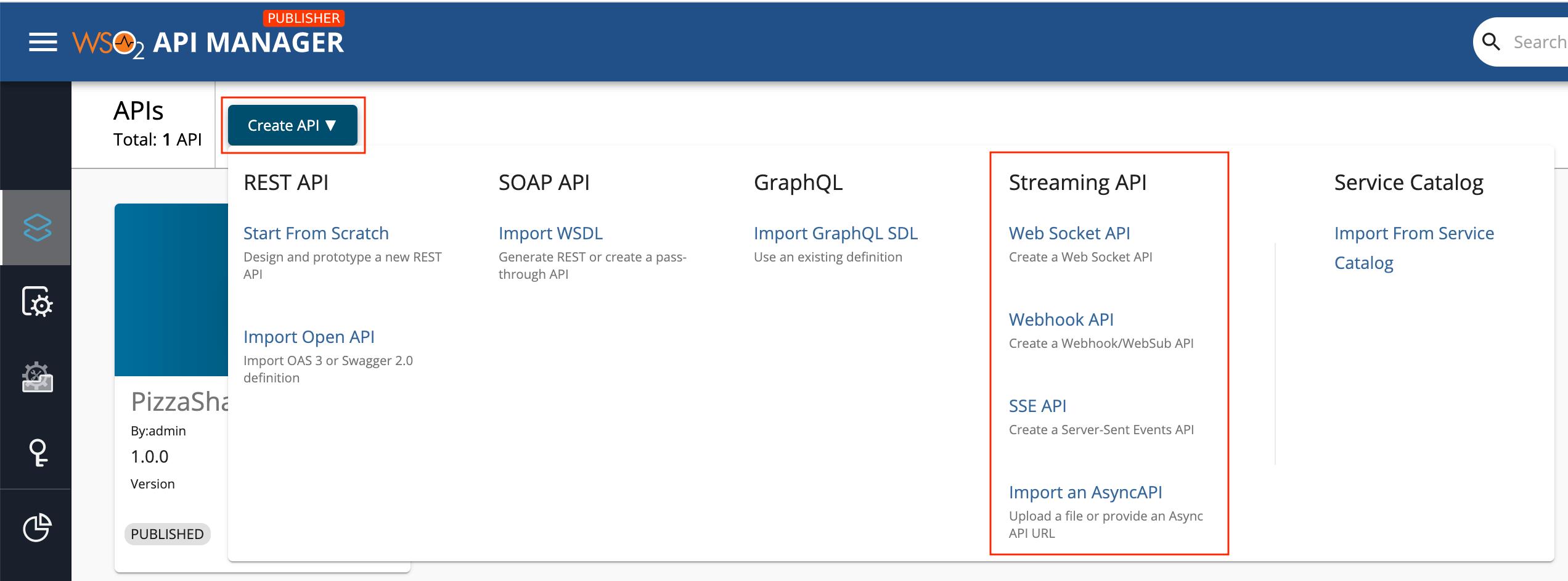 Design New Streaming API