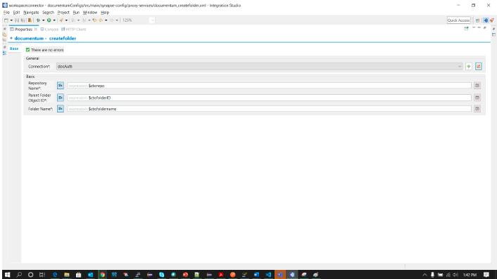 Documentum create folder