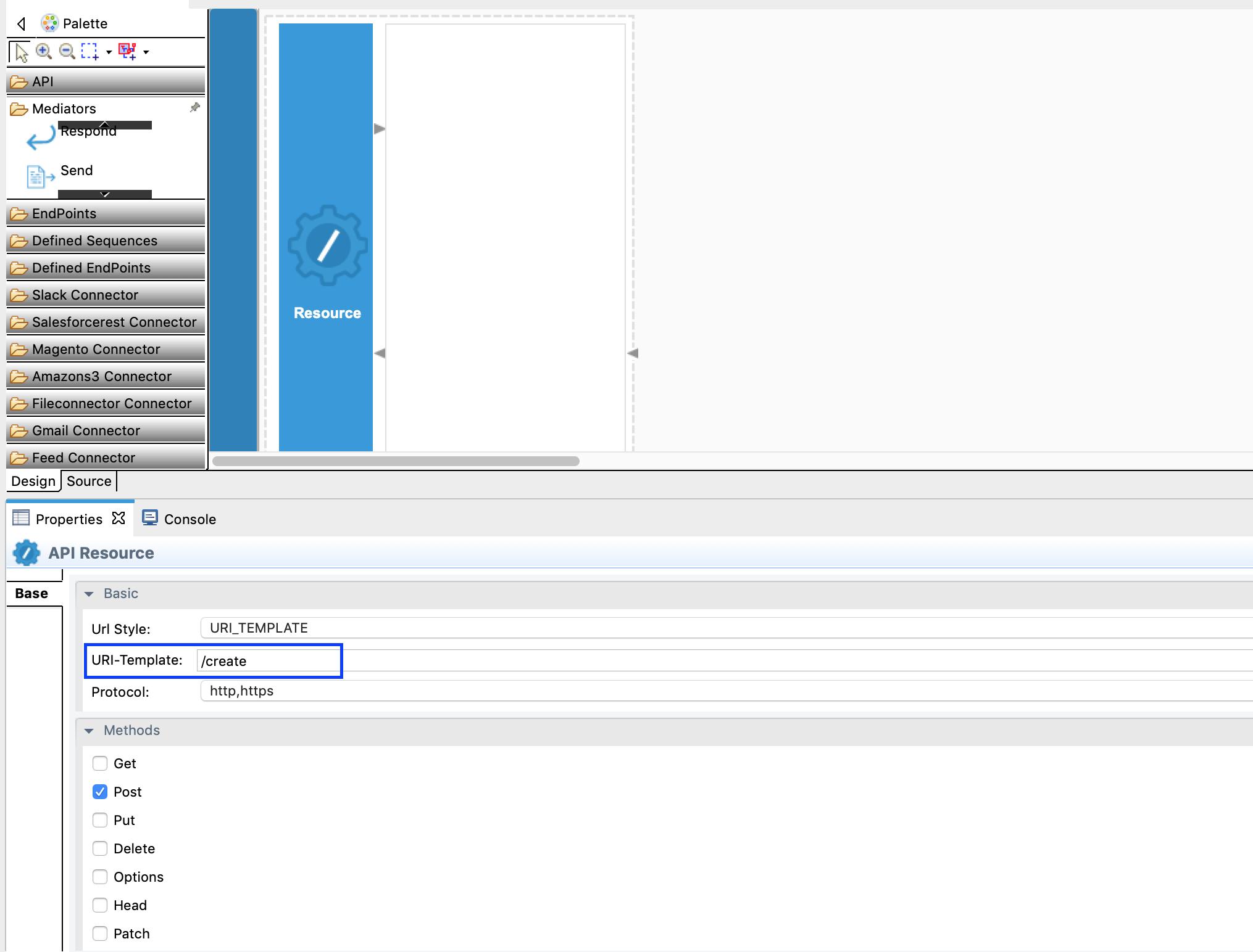 Adding the API resource.