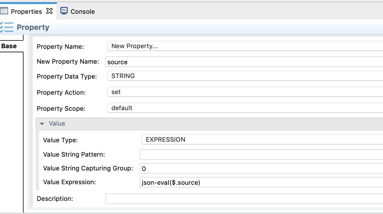 Adding property mediator
