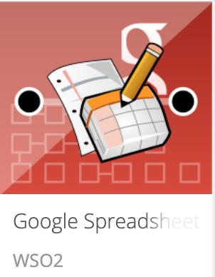 Google Spreadsheet Connector Store