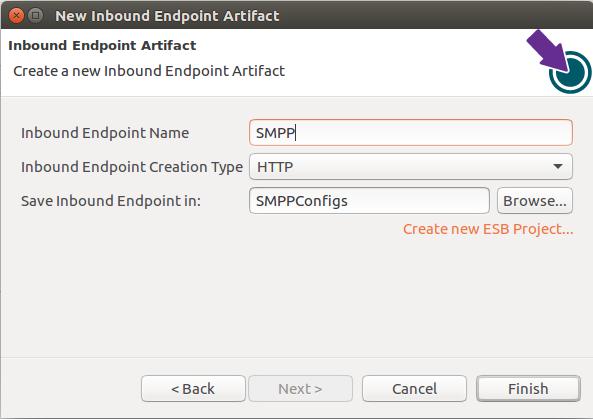 Creating inbound endpoint