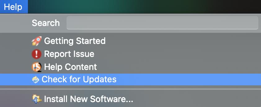 get tooling updates