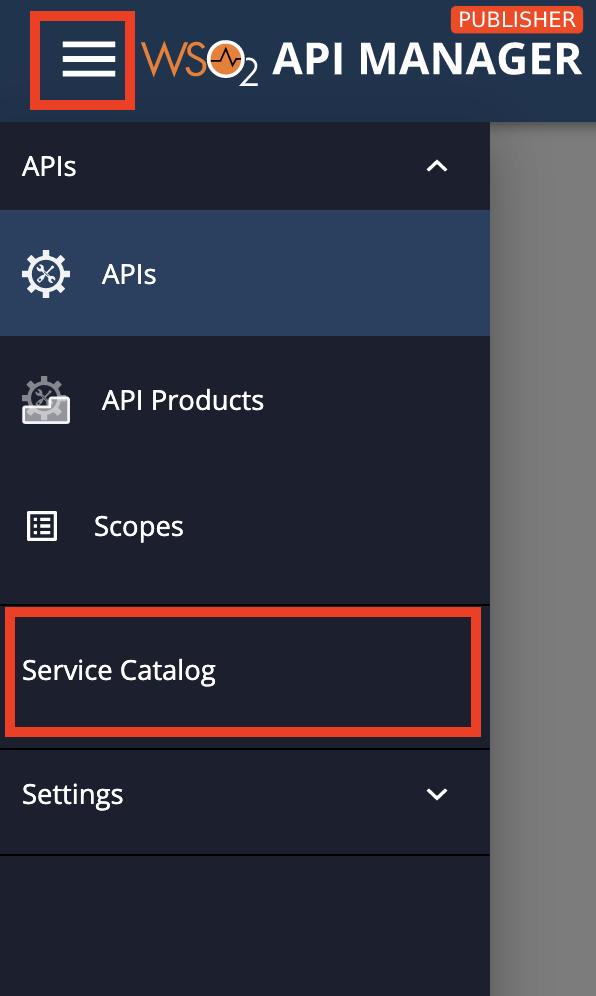 open service catalog