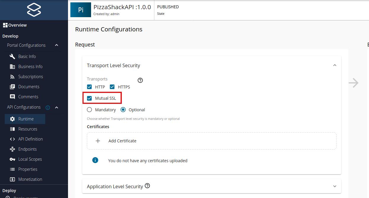 Enable mutual SSL