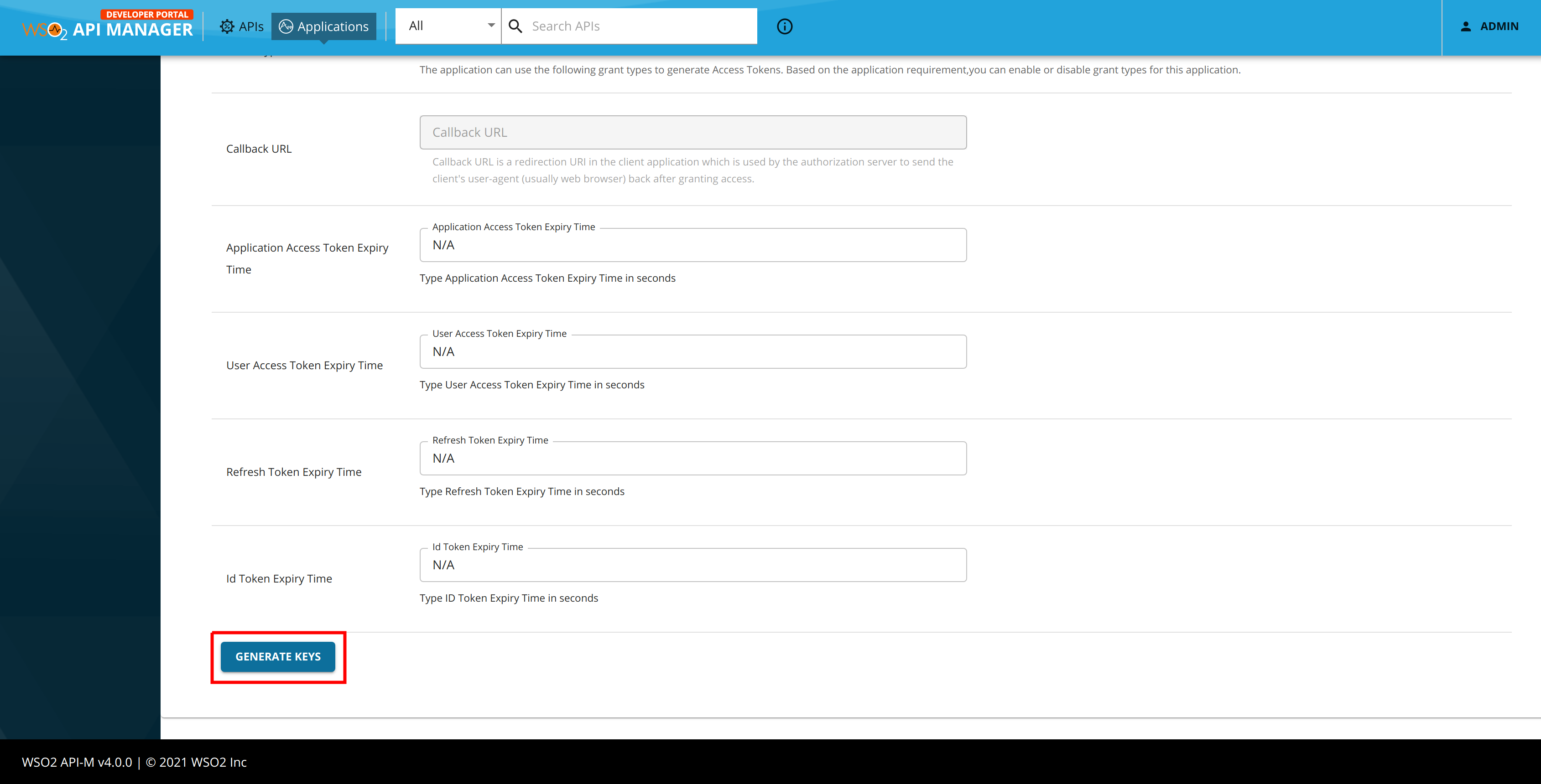 Generate Phone Verification OAuth Key