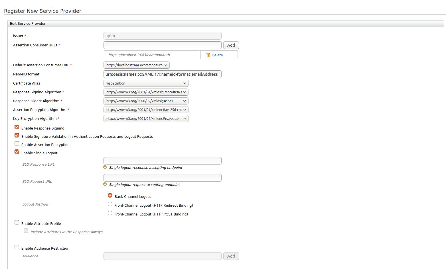 saml-configuration-in-service-provider
