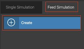 Feed Simulation tab