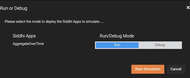 Start Simulation