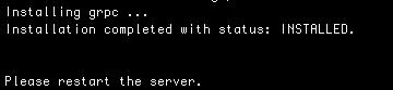 install extension log