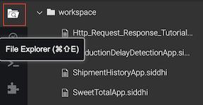 File Explorer menu
