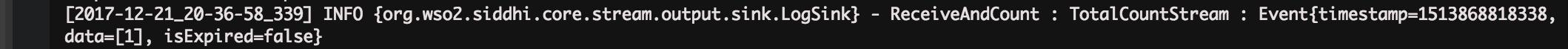 Output Log