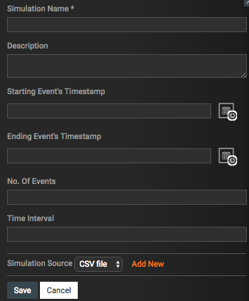Create feed simulation