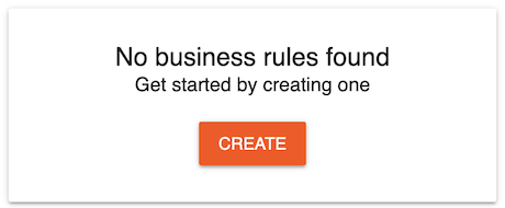 No Business Rule Exists