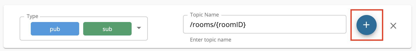 Add Topics to WebSocket API